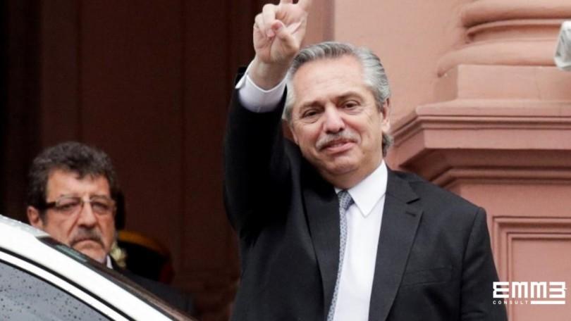 novo presidente da argentina
