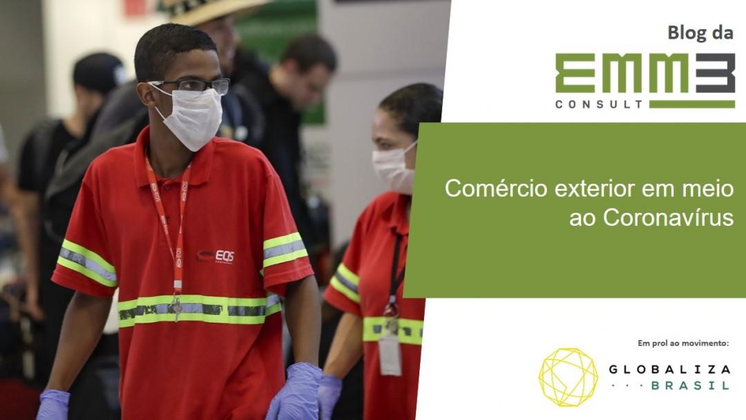 comércio exterio corona virus